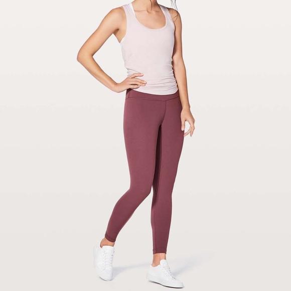 9faabdc7bb lululemon athletica Pants | Lululemon Align Pant Ii 25 So Merlot ...